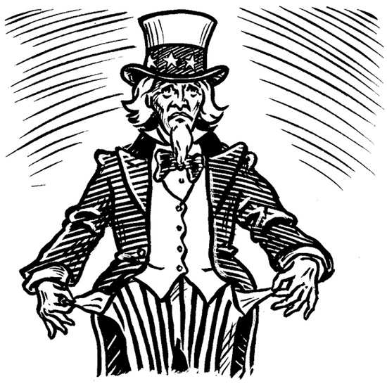 Uncle Sam HAS NO MONEY